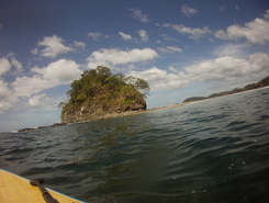 Playa Conchal  paddle board spot in Costa Rica