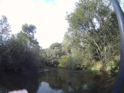 Oker river, Hillerse paddle board spot in Germany