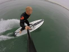 Cornwall paddle board spot in United Kingdom