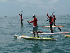 Travessia Mar Grande - Porto da Barra spot de stand up paddle en Brésil