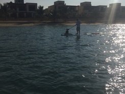 Mina al Arab, RAK spot de stand up paddle en Émirats arabes unis