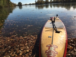 lac du bocage spot de stand up paddle en France