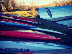 lac du bocage sitio de stand up paddle / paddle surf en Francia