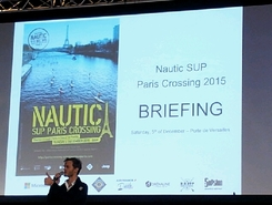 Paris nautic 2015 sitio de stand up paddle / paddle surf en Francia
