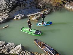 metauro spot de stand up paddle en Italie