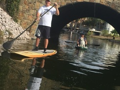 Lake LBJ sitio de stand up paddle / paddle surf en Estados Unidos