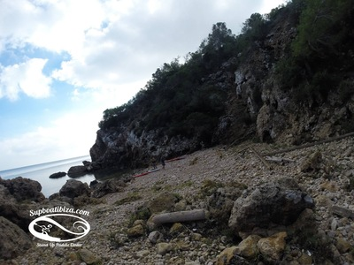 Cala de Sant Vicent spot de stand up paddle en Espagne