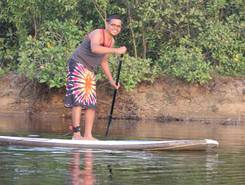 Surfing Yogis paddle board spot in India