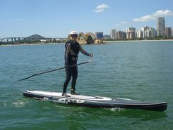 Manguinhos spot de stand up paddle en Brésil