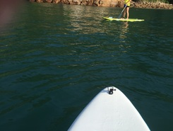 Playita spot de stand up paddle en Panama