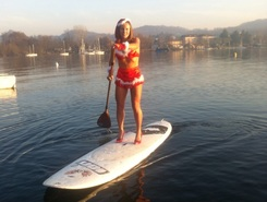 Viverone lake spot de stand up paddle en Italie