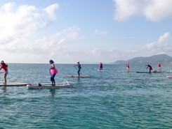 Almanarre sitio de stand up paddle / paddle surf en Francia