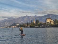 Bellagio sitio de stand up paddle / paddle surf en Italia