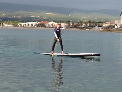 Almanarre paddle board spot in France