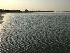 Mina al Arab, RAK paddle board spot in United Arab Emirates