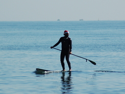 Victors Beach (Marbella) sitio de stand up paddle / paddle surf en España