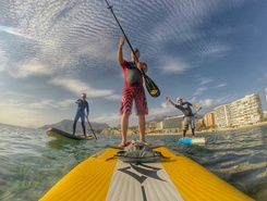 Playa Cantal Roig spot de stand up paddle en Espagne