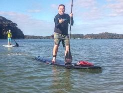 paihia paddle board spot in New Zealand