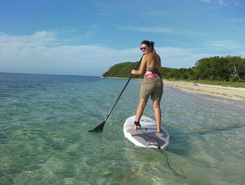 Naia paddle board spot in New Caledonia