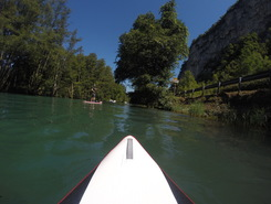 lac du Bourget spot de stand up paddle en France