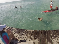 Secret Beach, Ambergris Caye  spot de stand up paddle en Belize