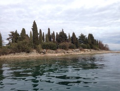 Isola S. Biagio (rabbits island) paddle board spot in Italy