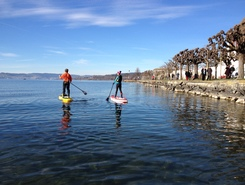 Risi sitio de stand up paddle / paddle surf en Suiza