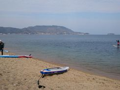 tuda bay paddle board spot in Japan