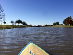 Telfair paddle board spot in United States