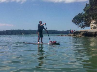 Point Chevalier paddle board spot in New Zealand