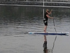 Merimbula Lake spot de stand up paddle en Australie