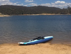 lake Jindabyne  spot de stand up paddle en Australie