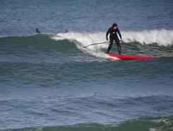 plage nord sitio de stand up paddle / paddle surf en Francia