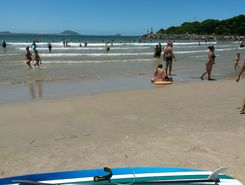 Barra da Lagoa sitio de stand up paddle / paddle surf en Brasil