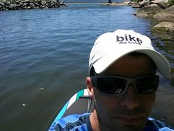 Barra da Lagoa paddle board spot in Brazil