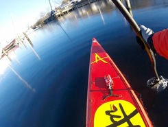 Kielseng Industriekai sitio de stand up paddle / paddle surf en Alemania