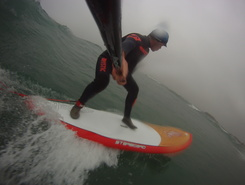 Pors Carn sitio de stand up paddle / paddle surf en Francia