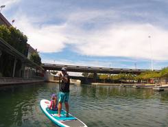 Water Front spot de stand up paddle en Afrique du Sud