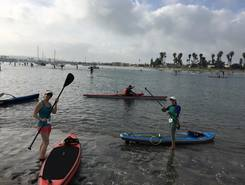 Bonita Cove paddle board spot in United States