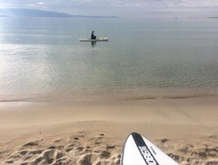 Ricanto  spot de stand up paddle en France