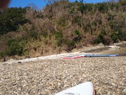 kaiganji paddle board spot in Japan