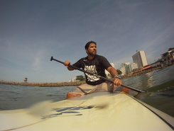 Quebra mar spot de stand up paddle en Brésil