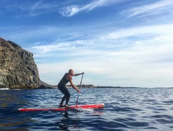 Palm Mar spot de stand up paddle en Espagne