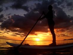 Praia do Por do Sol sitio de stand up paddle / paddle surf en Brasil