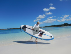 Baie de Kanumera paddle board spot in New Caledonia