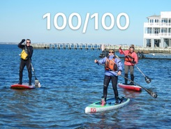 Brant Beach, LBI sitio de stand up paddle / paddle surf en Estados Unidos