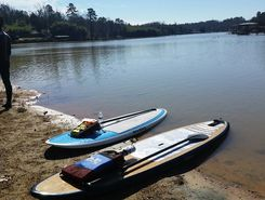 The Goat Boater, Lake Wylie Paddleboarding paddle board spot in United States