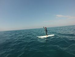 HKSHATOT BEACH  spot de stand up paddle en Israël
