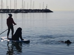 Sistiana Beach spot de stand up paddle en Italie