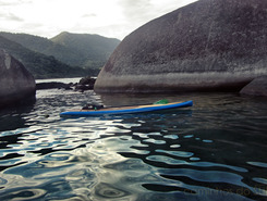 Trindade paddle board spot in Brazil